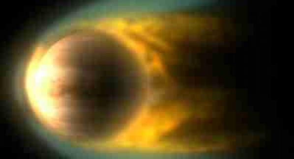 初期金星大気の流体力学的散逸